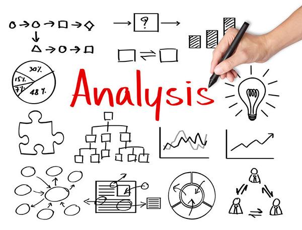 24952007 - business hand writing data analysis