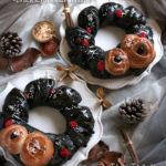 大人女性のエレガントなクリスマスパン ブラックリース&ブラックツリー【教室開業・集客講座|横浜東京】