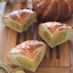 白神こだま酵母のオレンジコイルブレッド~サツマイモとオレンジの香り~