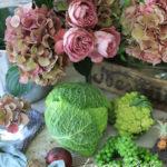 薔薇と野菜のスタイリングと写真の撮り方【教室開業・集客講座・コンサルタント|横浜東京】